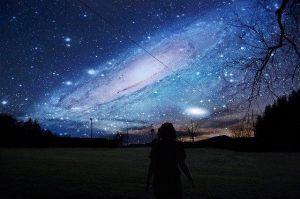 L'humain de la Terre face à l'Univers