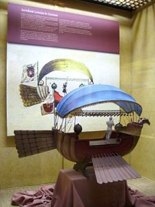 Réplique de la Gondole Volante .