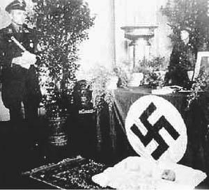 Funeral of Otto Rahn, 1939