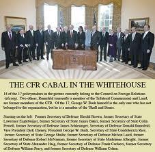 Le CFR ( Council of Foreign Relations),la puissance Illuminati à l'intérieur de la Maison Blanche