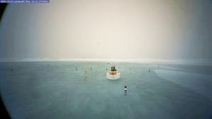 La preuve devant vos yeux : la webcam installée face au Pôle Nord magnétiqu (en déplacement accéléré)