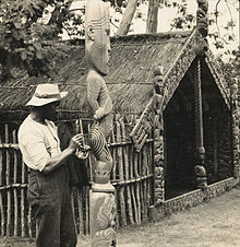 A Tiki God in 1905