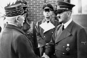 Le 24 octobre 1942 ,la rencontre à Montoire.