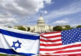 Israel-us flag