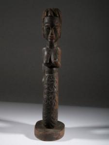 Mami-wata ,sculpture de Côte d'Ivoire.