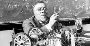 Norbert Wiener  durant un cour