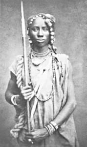 Seh-Dong-Hong-Beh ,la femme guerrière du Dahomey.