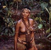 Femme du Zululand (photo prise en 1984)