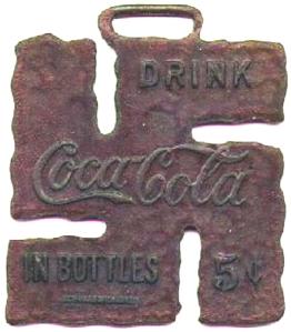 Ouvre bouteille de Coca Cola,datant de 1925.