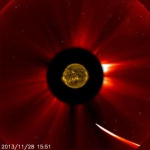 La comète ISON,le 15 décembre 2013