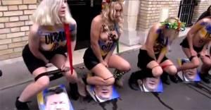 Femen  travaillerait pour la propagande US ...fort probable!