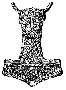 """Le mouvement voelkisch,prend son essor vers 1880,mais préféré jusque en 1910,le """"Mjoelnir"""" ou marteau de Thor,comme signe de reconnaissance. En 1907,Jorg Lanz von Liebenfels,fondateur des néo templiers et pamphlétiste(dont le jeune Hitler est un lecteur assidue)monte le première drapeau avec un croix gammée sur son château de Werfenstein en Autriche"""