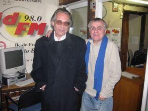 Richard Khaitzine en compagnie de Jean-Claude Carton.