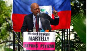 Michel Martelly,un politicien soutenu par le crime organisé. Ou se trouve la démocratie là-dedans?