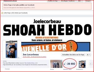 Joe Lecorbeau...page censurée