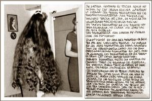 Maria Orsic...les cheveux longs et des textes en langue sumérienne dictés dans son sommeil.