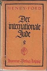 La evidencia apoya el Henry Ford del movimiento nazi: este pequeño libro muy antisemita impreso en alemán.