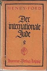 Preuve du soutient d'Henry Ford au mouvement nazi:ce petit livre très anti-sémite imprimé en allemand.Evidence supports the Henry Ford the Nazi movement: this little book very anti-Semitic printed in German.