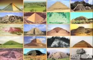 Les pyramides dans le monde entier...