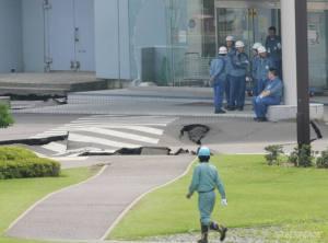 Le sol de la grande centrale avait été sérieusement fragilisé lors du tremblement de terre de 2007.
