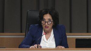 La juge France Charbonneau...