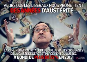 Caisse dépot austérité
