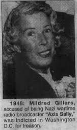 En 1948,Gillars Mildred fut condamné après un long procès.