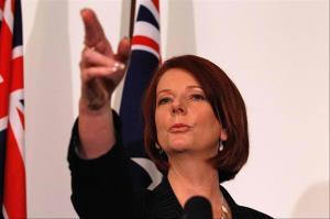 Julia Gillard ,une première ministre sans  peur,ni reproches!