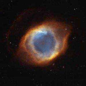La nébuleuse de l'oeil de Dieu