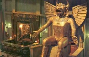 Le dieu satanique Moloch...