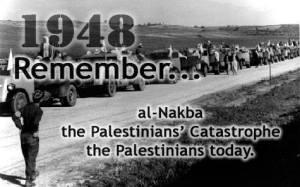 Nakba : Mai 1948 La catastrophe pour tout un peuple. plus de 700 000 Palestiniens sont chassés de leurs maisons, par les groupes terroristes israéliens, laissant derrière eux des milliers de morts hommes, femmes et enfants. 66ans plus tard la situation n' a point évolué des millions de réfugiés palestiniens, des milliers de colons sur les terres palestiniennes. Palestine don't forget.