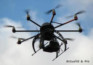 Un drone de surveillance civile (urbaine).