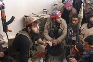 Photo de jeunes  mercenaires islamiques recrutés en Espagne et dans toute l'Europe.