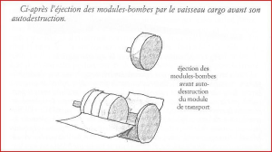Éjection des modules.