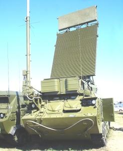Le système de radiodétection russe 9S18M1-1 .