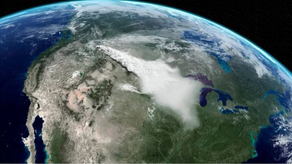 Quand  le supervolcan de Yellowstone va entrer en éruptioin,ce sera la fin  de nombreuses espèces animales...sur Terre.