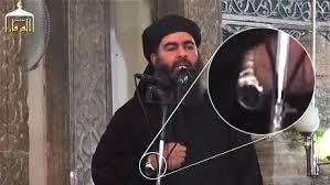 Pendant que ses sbires djihadistes ont le ventre creeux,Abou Bakr al-Baghdadi,le calife autoproclamé de tous les musulmans aurait une Rolex  pour tenir l'heure.