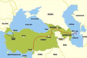 carte baku-ceyhan-pipeline