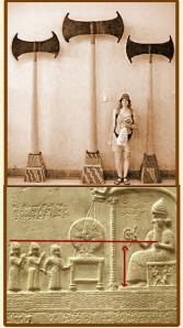 Mêmes les tablettes et bas-relief de Sumer en parle...tout en parlant des Annunaki.