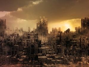 Une ville...une vision d'apocalypse! Bougeons pendant que nous sommes vivants!