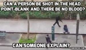 Comment un tir à bout portant ne  laisse pas une mare de sang?