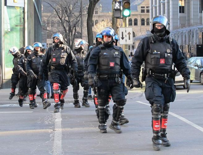 Manifestation contre l'austérité.  Photo  Irène Yakonowsky