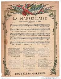 La Marseillaise...