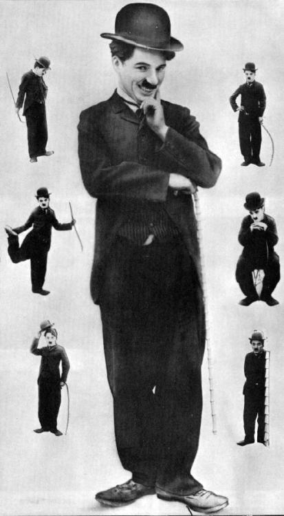 J'ai engagé une armée d'Charlots... Charlie Chaplin - Charlot - vers 1915.