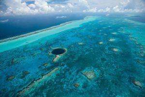 La barrière de corail de Belize peut ne pas être en mesure de correspondre à la Grande Barrière de corail australienne en termes de taille, mais il est certainement pour elle dans la beauté. L'incroyable étendue de l'océan est le foyer de l'un des écosystèmes les plus diversifiés au monde. Le récif étire un impressionnant 190 miles (300 km) de long et fait partie de la barrière de corail méso-américain, qui est le deuxième plus grand système de récifs coralliens dans le monde. La barrière de corail du Belize est le foyer de plus de 500 espèces de poissons, 70 espèces de coraux durs et 36 espèces de coraux mous. Peut-être plus impressionnant de tous cependant, est le fait que près de 90% de la superficie doit encore être étudié, suggérant que, jusqu'ici, seulement 10% de toutes les espèces dans la barrière de corail ont été découverts!