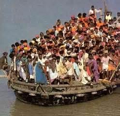 Les millions de réfugiés actuels annoncent le début réel de la crise alimentaire...et la fin de notre civilisation.