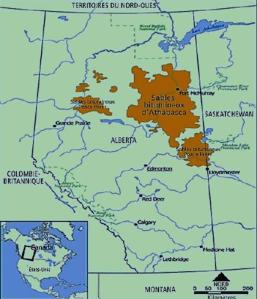 Carte de  la zone discutée dans l'article.