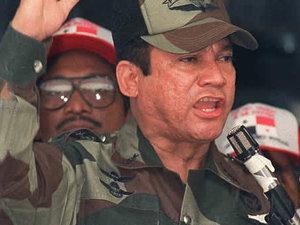 Manuel Noriega,l'un des associés d'Arthur Porter en prison ,à Panama.