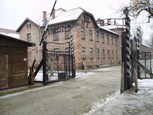L'entrée d'un camp bien connu en Allemagne.