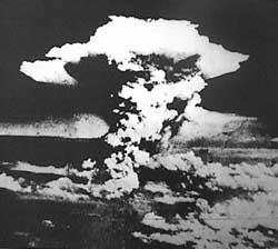 Le 6 aout 1945,le bombardement d'Hiroshima.